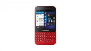 BlackBerry Q5 rojo