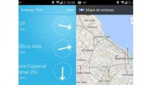 Aplicación antenas TDA
