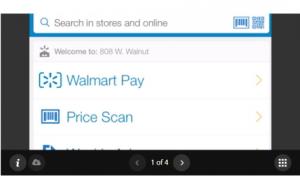 Walmart Pay, aplicación móvil