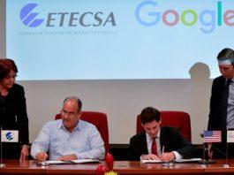 Google firmó acuerdo con Etecsa para mejorar servicio de internet