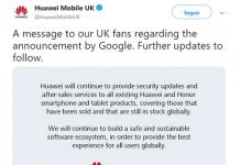 Google rompe relaciones comerciales con Huawei