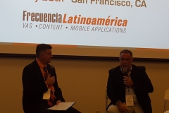 Derek Kerton, Chairman, Telecom Council Silicon Valley and Leandro Musciano, Regional Product and Services Director, Telefonica Latin America
